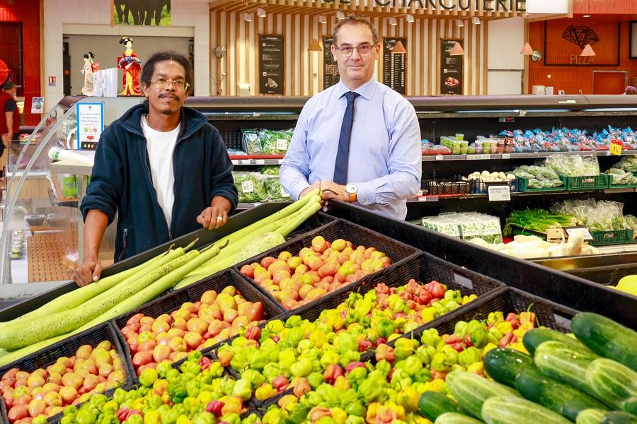 Rayon légumes Produits d'ici - Carrefour Guyane