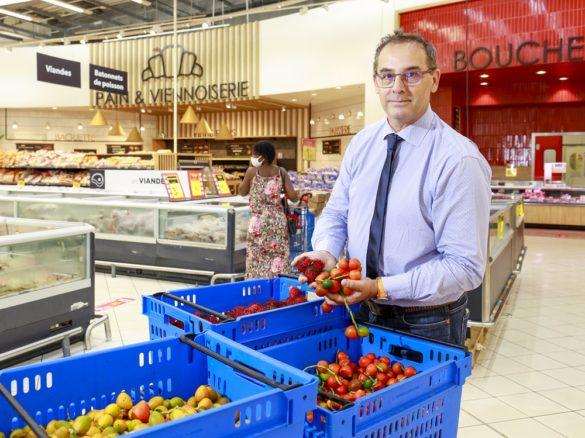 Gilles Klaus - directeur Carrefour Matoury
