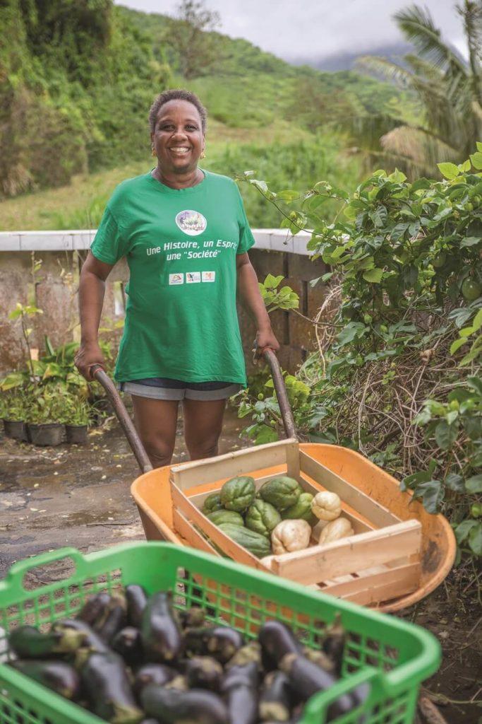 Annick Jubenot - Présidente association Lasotè - Martinique