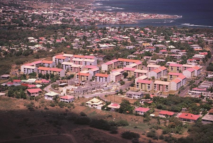 Grands ensemble diffus - SIG - Guadeloupe