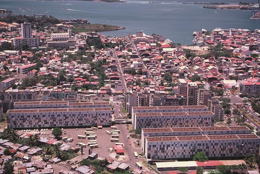 Logements sociaux - SIG - Guadeloupe