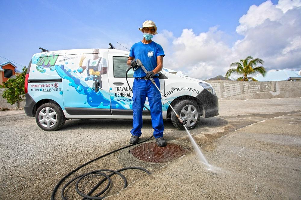 TNN Industriel, expert du nettoyage professionnel à Saint-Martin