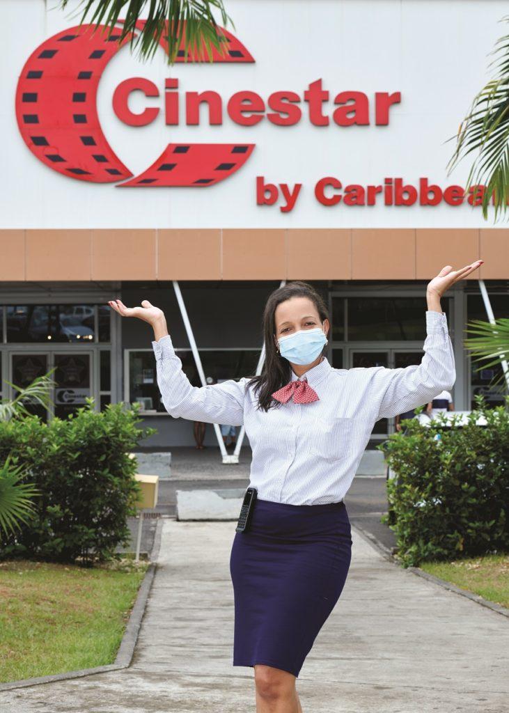 Christelle Galou Théophile, Directrice générale du multiplex Cinéstar by Caribbean Cinemas