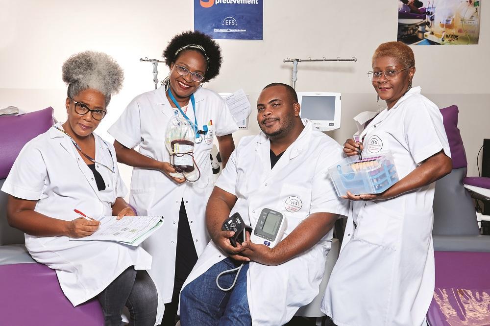 12000 dons de sang pour atteindre l'autosuffisance en Guadeloupe