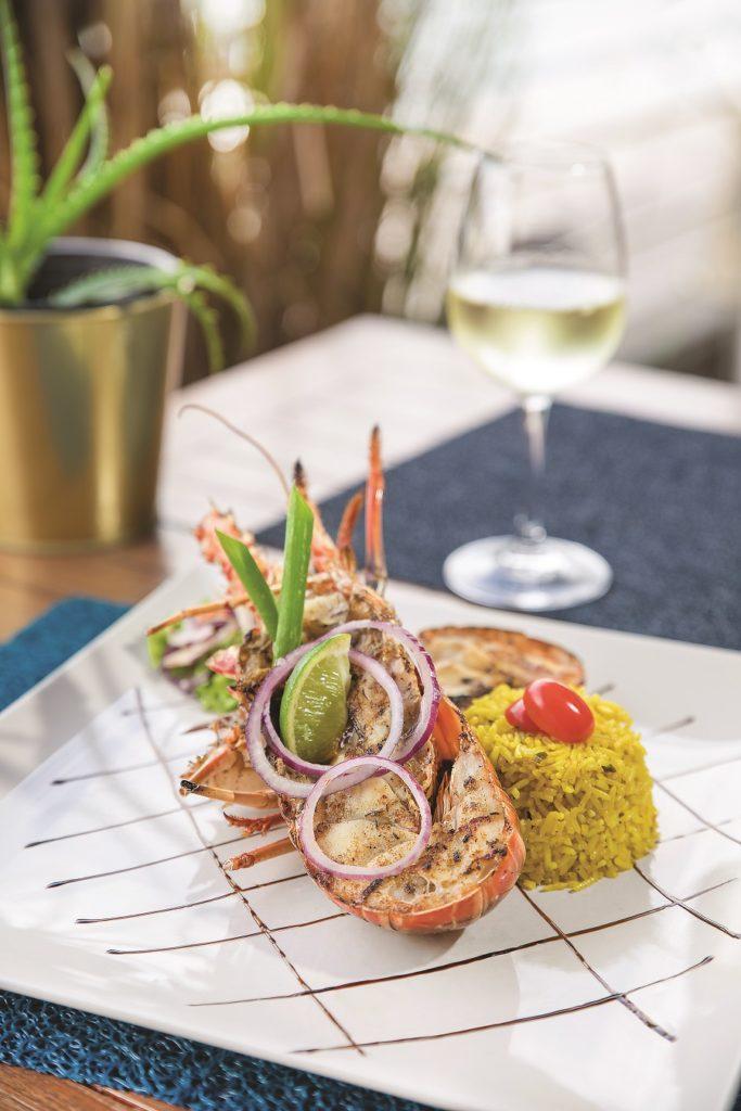 Plat restaurant Le Spice - Martinique