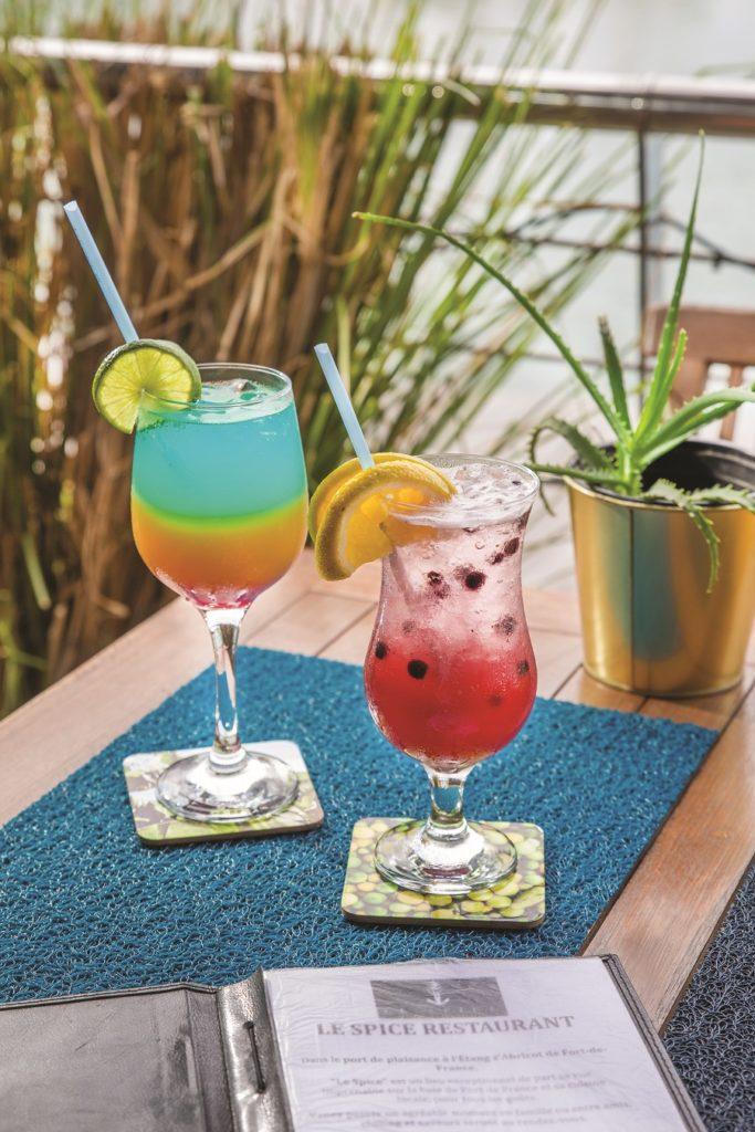 Cocktails restaurant Le Spice - Martinique