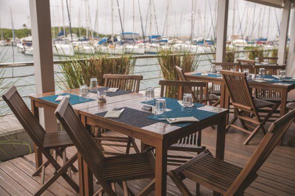 Terrasse restaurant Le Spice - Martinique