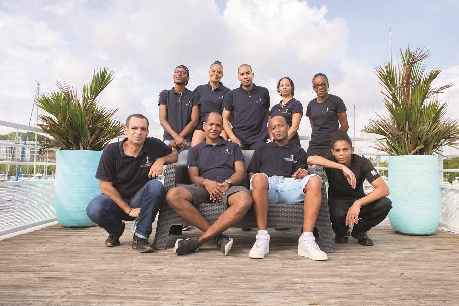 Equipe restaurant Le Spice - Martinique