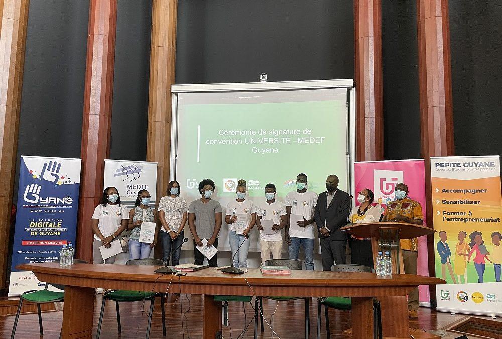 Pépite Guyane, le dispositif des étudiants-entrepreneurs guyanais