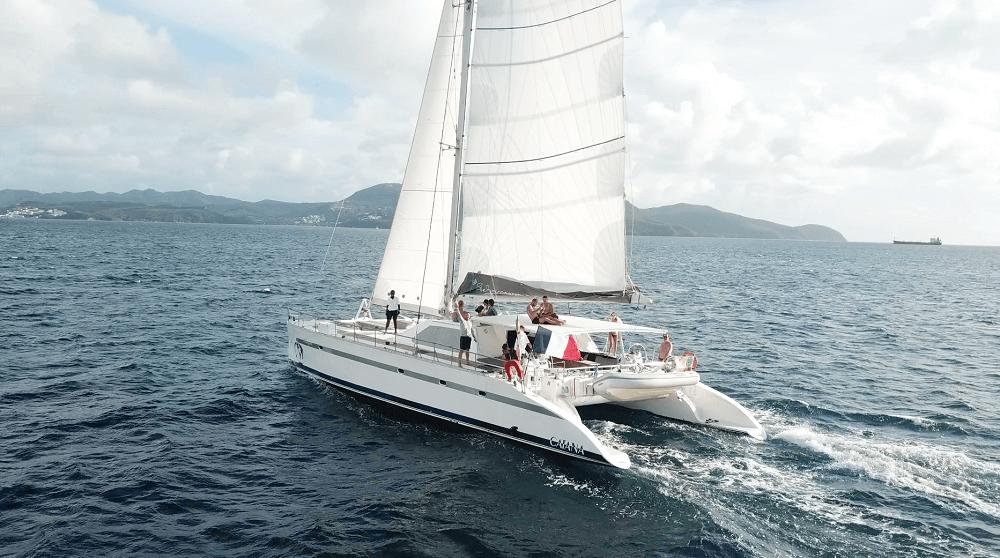 Blue Dream Croisières, excursions de luxe sur les côtes martiniquaises