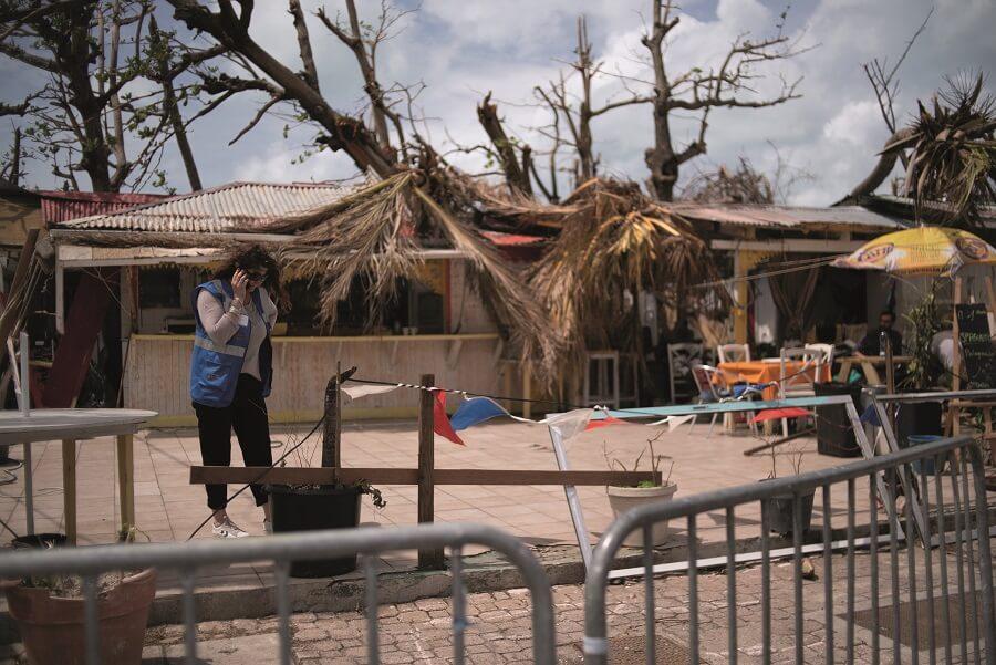 Saint-Martin après Irma