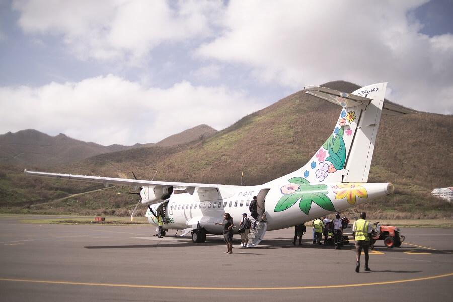 Avion à Saint-Martin
