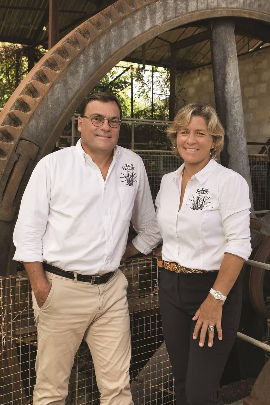 Jean-Pascal et Gaelle Hardy