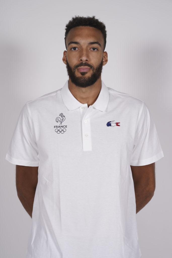 Rudy Gobert - joueur de basket ball - Guadeloupe