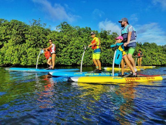 Step paddle -Guadeloupe