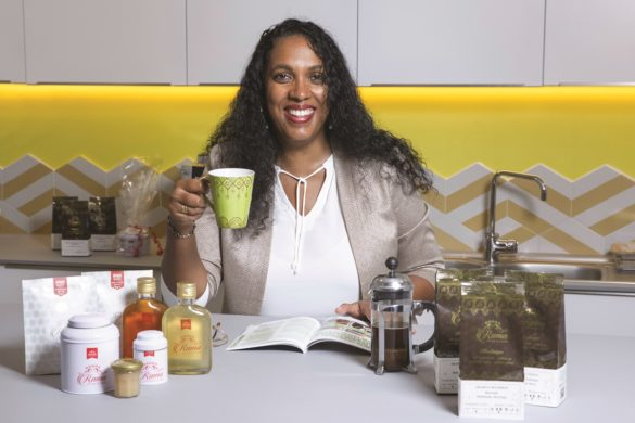 Diana Colot-Ramassamy - créatrice Rama Cafés et Thés