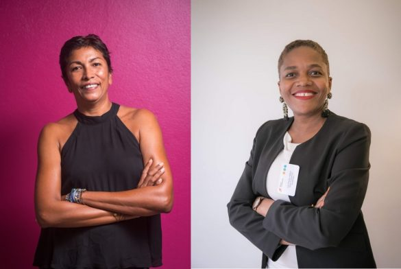 Karine Besombes et Line-Charles Hélène - Réseau Entreprendre Guadeloupe