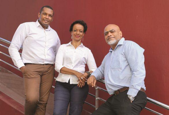 Jean-Manuel Dunon, Flora Eliazor, Jean-Yves Bonnaire, - 60000 rebonds Antilles- Guyane