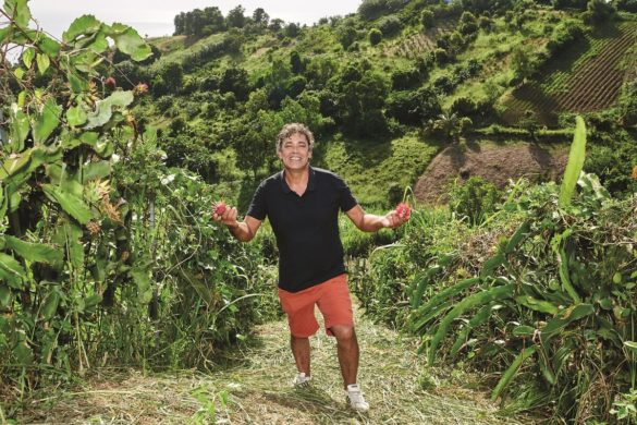 Frédéric Bourseau - producteur Pitaya - ASSOFWI - Guadeloupe